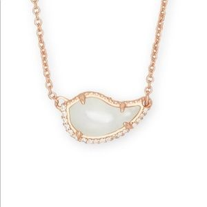 Kendra Scott Tansy Mother-of-Pearl Rose Gold